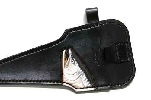 Y-Style Full Length Leather Seath, Sakura-masu