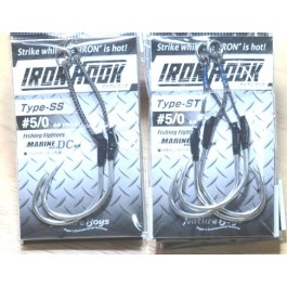 Nature Boys Iron Hook, Type-SS, Type-ST assist hooks