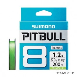 Shimano Pitbull 8, braided lines