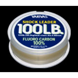 Varivas Shock Leader Fluorocarbon 30m for offshore big game (fluorocarbon leader)