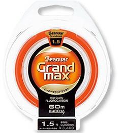 Kureha Seaguar Grand Max 60m (Fluorocarbon 137% tie strength)