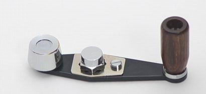 Mike's Wood knob single handle for ABU