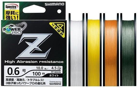 Shimano Power Pro Z lines