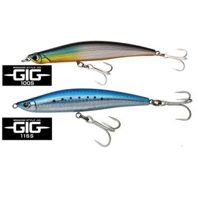 Anglers Republic GIG 100S 115S minnow like jigs