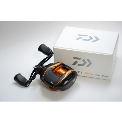 Used Daiwa T3 SV 8.1R-TW Like New 9.5/10 condition
