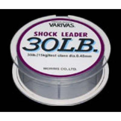 Varivas Shock Leader Nylon 30m for offshore big game (nylon leader)