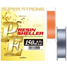 Yamatoyo PE Resin Sheller Orange/Silver 150m braid