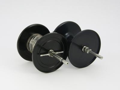 Avail Microcast AMB5500CMamiya spool Gunmetal, Old ABU 5500C 80's