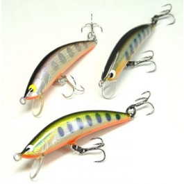 Tackle House Twinkle wooden foil minnow 45mm