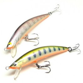 Tackle House Twinkle wooden foil minnow 60mm 75mm