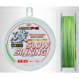 YGK Admix PE Slow Sinking braided lines (PE spectra hybrid with super ester)