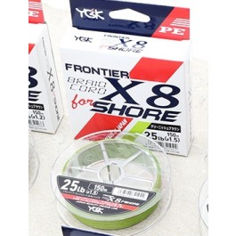 YGK Frontier Braid Cord X8 for Shore
