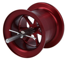 Avail Microcast AMB5050R spool Red, Old ABU 5000 5000D, bronze bushing