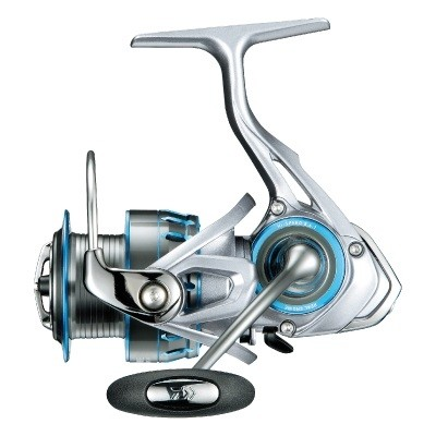 Daiwa 17X Fire spinning reels 2017- Light weight metal spool reel