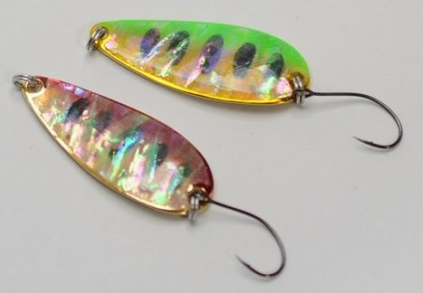 Field Hunter, Lure Man 701 shell finish spoons 7, 13g
