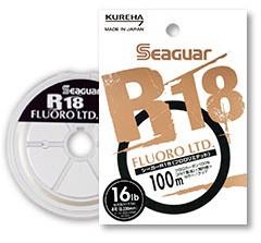 Kureha Seaguar R18 Fluoro LTD. 100m/80m(100% Fluorocarbon line)