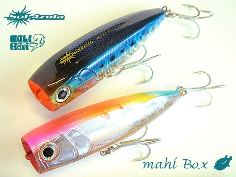 Mangrove Studio Mahi Box poppers 100mm 28g