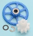 Mike's Reel Repair Ported 5152 2BB ABU idler gear kit, Blue