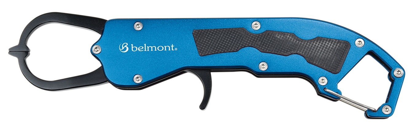 Belmont MR-004 Metal Fish Grip Blue 216mm