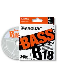 Kureha Seaguar R18 BASS 240m/200m bulk spool(100% Fluorocarbon line)