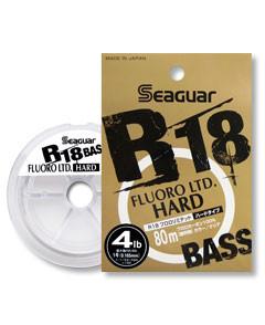 Kureha Seaguar R18 Fluoro LTD. Hard BASS 80m(100% Fluorocarbon line)