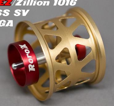 Roro BFS Spool DIY RX30, standard, Daiwa TW1000, Gold