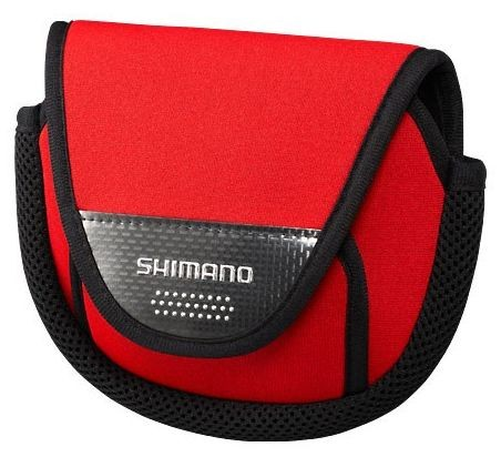 Shimano Spinning reel bag PC-031L, Red, M(3000, 4000, C5000)