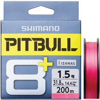 Shimano Pitbull 8+ Plus, braided lines