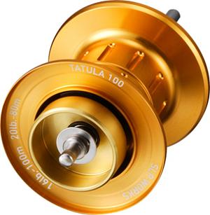 Daiwa SLP Works Tatula 100 spool 2014-2016