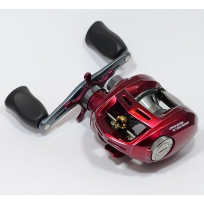 Daiwa Alphas Type-F 103, 7 Seas Proshop Original Red, box damage