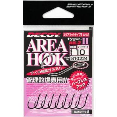 Decoy Area Hook Type-2 (AH-2) spoon barbless hooks