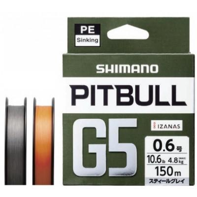 Shimano Pitbull G5, sinking braided lines