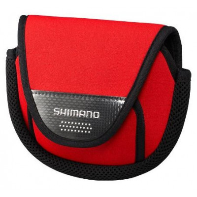 Shimano Spinning reel bag PC-031L, Red, SS(1000)