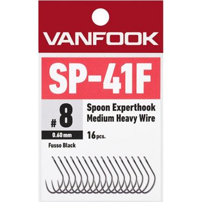 Vanfook Expert Hooks, SP-41F, Medium Heavy, barbless, PTFE coated single hooks