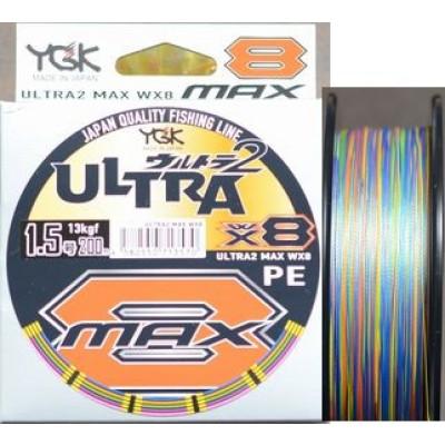 YGK X-Braid Ultra2 Max WX8 200m 300m spools