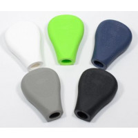 DRT Flat Knob, replacement rubber 2pcs