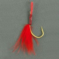 Vanfook Drift Hooks, DF-61 Marabou, soft eye, marabou trout single hooks